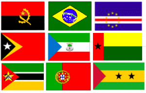 Flags of Portuguese speaking countries