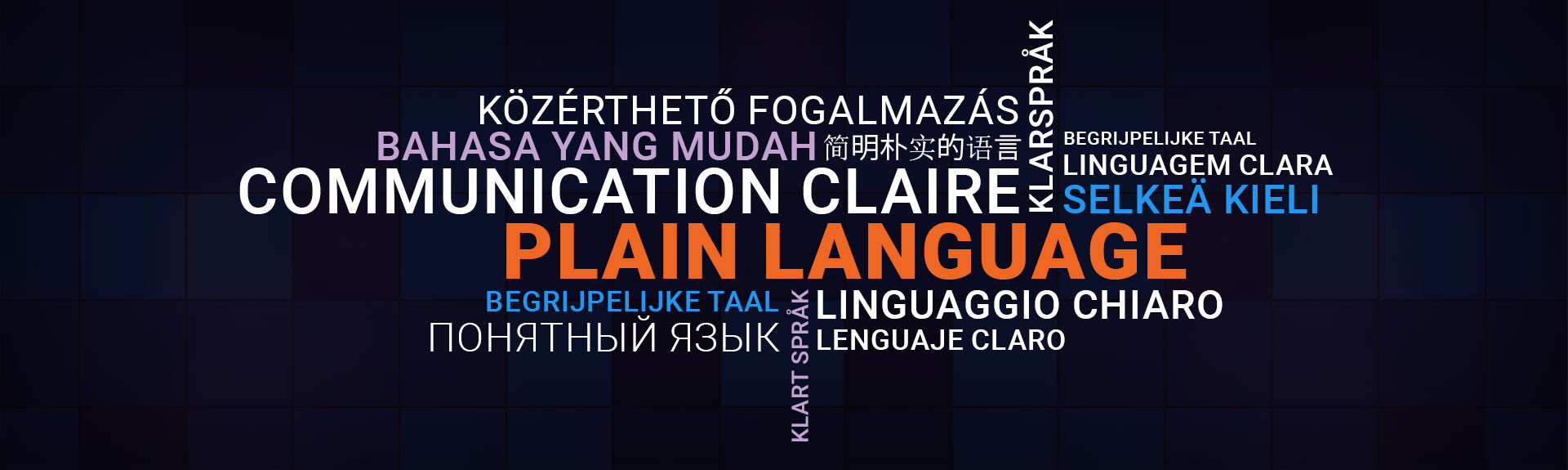 Plain language in different languages