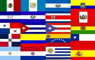 flags of spanish speaking countries plain language association