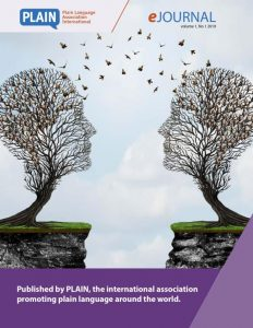 Cover of first issue of eJournal