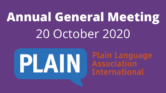 Annual General Meeting October 20, 2020