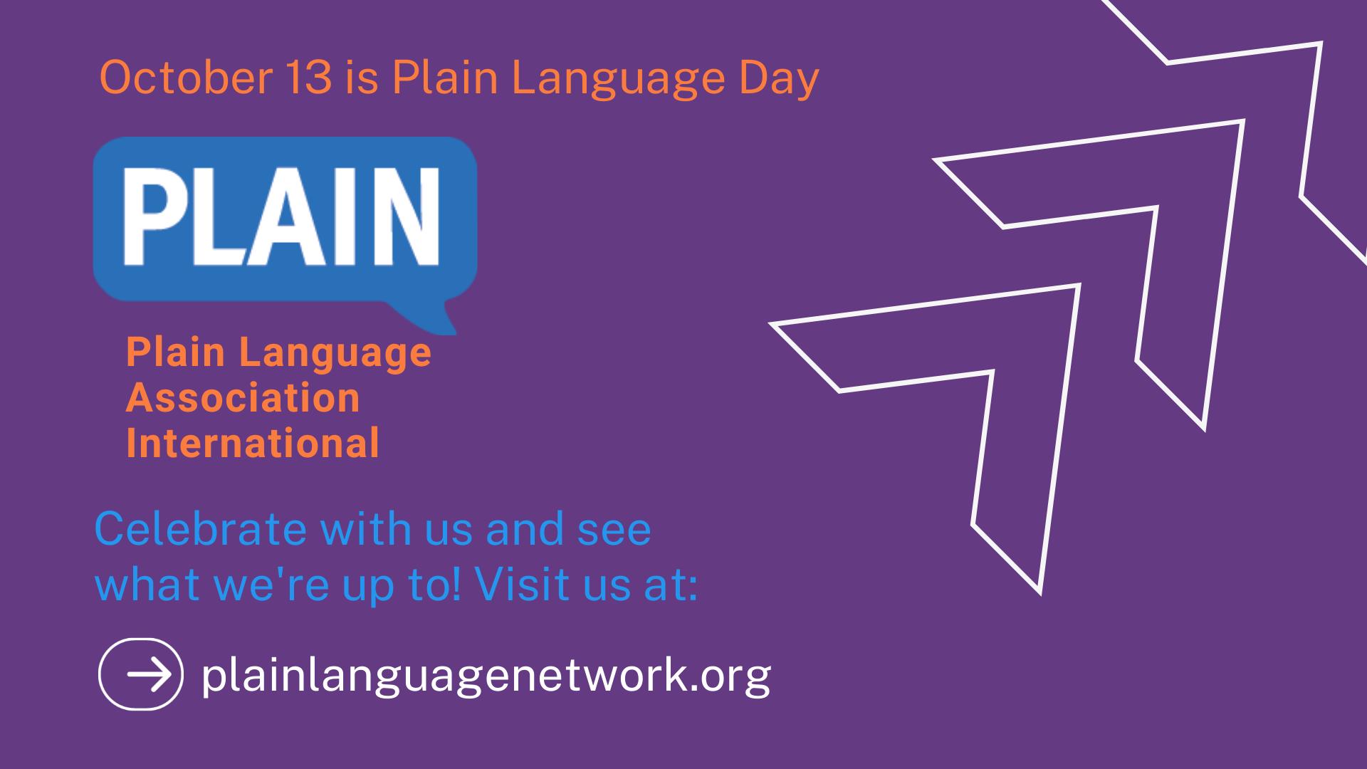 Internaitonal Plain Language Day is coming!